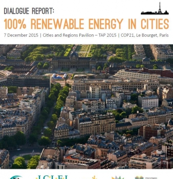 Dialogue Report: 100% Renewable Energy in Cities