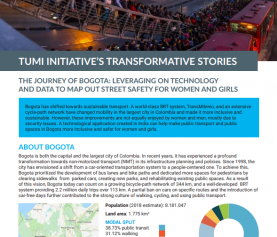 TUMI Initiative's Transformative Stories – Bogotá