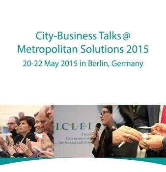 City-Business Talks @ Metropolitan Solutions 2015