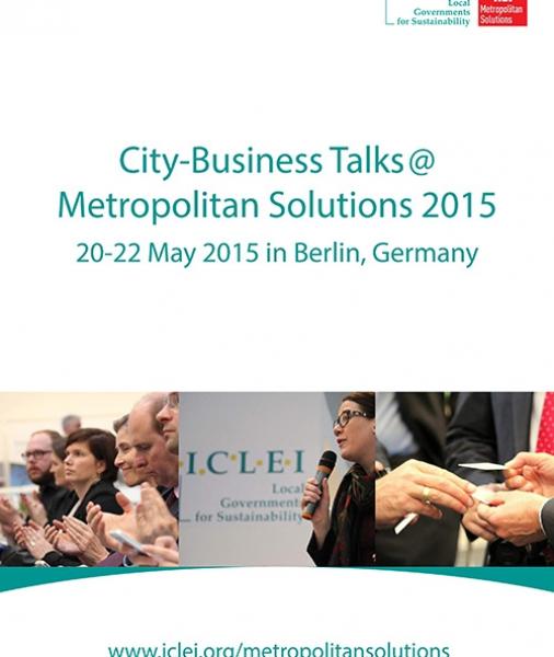 City-Business Talks @ Metropolitan Solutions 2015