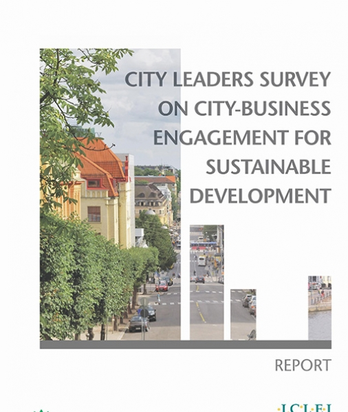 City Leaders Survey on City-Business Engagement for Sustainable Development