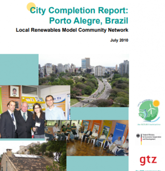 Relatório Final da 2ª Fase do Projeto Rede Elo – Porto Alegre