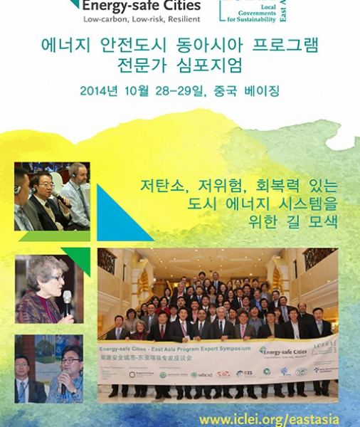 Energy-safe Cities East Asia Program Expert Symposium Report (Korean)