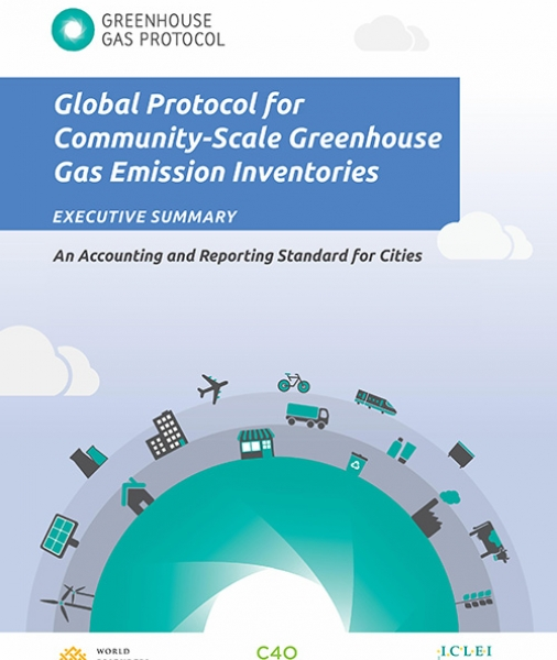 Global Protocol for Community-Scale Greenhouse Gas Emission Inventories (GPC): An Accounting and Reporting Standard for Cities (Executive Summary)