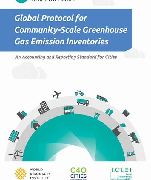 Global Protocol for Community-Scale Greenhouse Gas Emission Inventories (GPC): An Accounting and Reporting Standard for Cities (postcard)