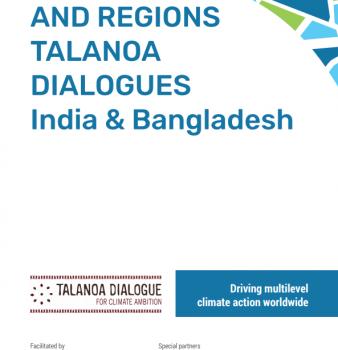 Cities and Regions Talanoa Dialogues — India & Bangladesh