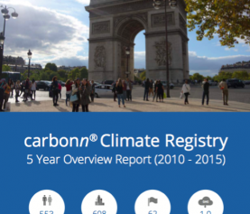 carbonn Climate Registry 5 Year Overview Report