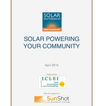 Solar Outreach Partnership's Solar Powering Your Community