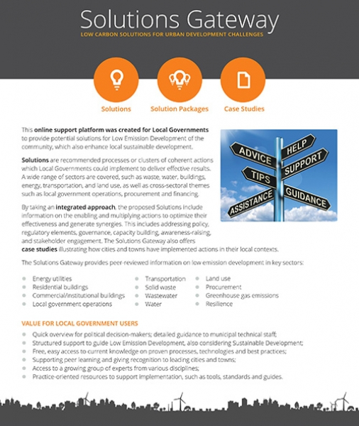 Solutions Gateway & Pool of Experts factsheet