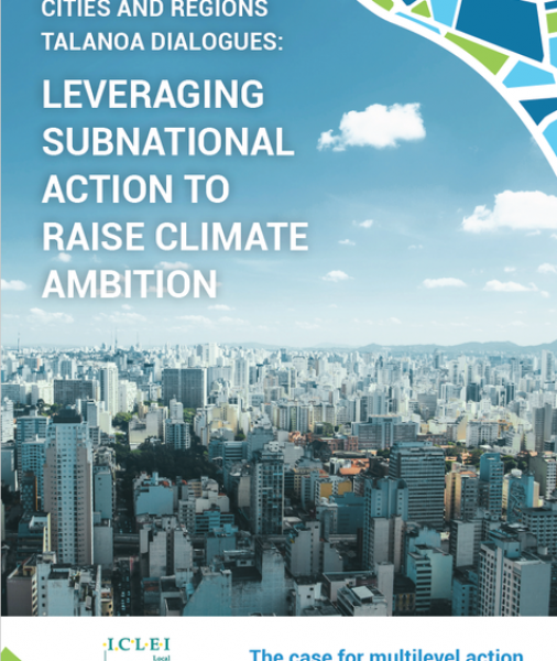 Leveraging subnational action to raise climate ambition