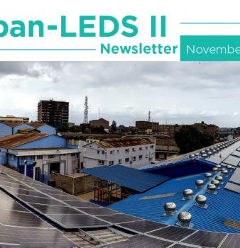Urban-LEDS II Newsletter November 2018