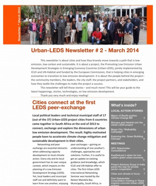 Urban-LEDS Newsletter #2