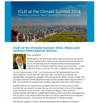 carbonn Climate Registry Newsletter #2