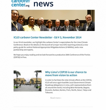 carbonn Climate Registry Newsletter #3