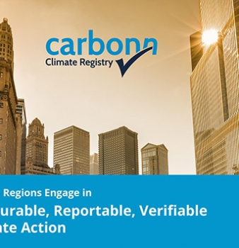 carbonn Climate Registry postcard
