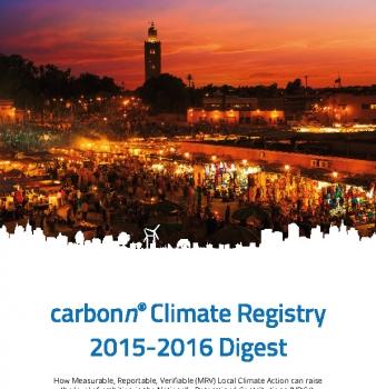 carbonn Climate Registry 2015-2016 Digest