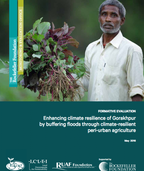 Formative Evaluation Report – Enhancing climate resilience of Gorakhpur  by buffering floods through climate-resilient peri-urban agriculture