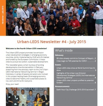 Urban LEDS Newsletter #4
